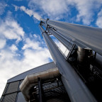 Abgasanlage Heizkraftwerk KWK-Anlage